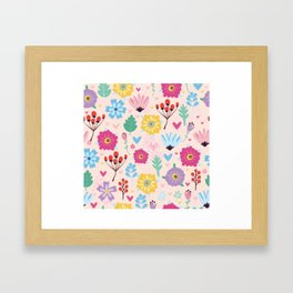 Beautiful Flowers Art Prints Framed Art Print