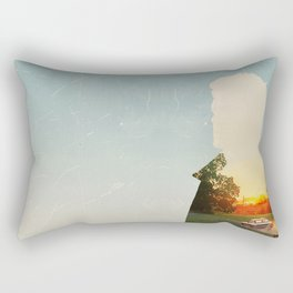 Dean Winchester Supernatural Impala  Rectangular Pillow