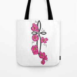 A Cross for Lesia Tote Bag