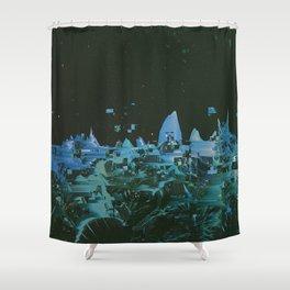 TZTR Shower Curtain