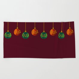 Christmas - The Best Time Of The Year Beach Towel