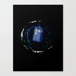 Space and Time and the Universe Canvas Print