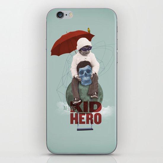 KID HERO iPhone & iPod Skin