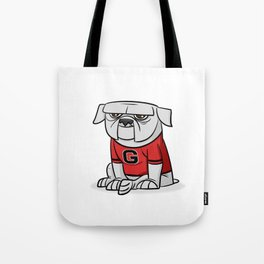 Bulldog from Georgia Tote Bag
