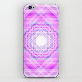 11 E=BlurryPink iPhone Skin