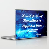 inspirational Laptop & iPad Skins featuring Inspirational by 2sweet4words Designs