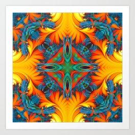 Mandala #8 Art Print