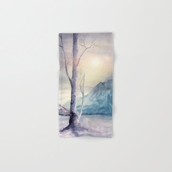 Winter Melody Hand & Bath Towel