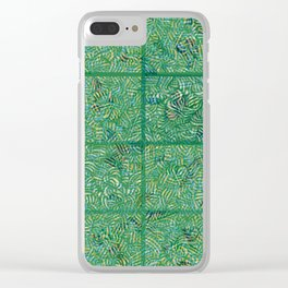Tropical Hallucinations Clear iPhone Case