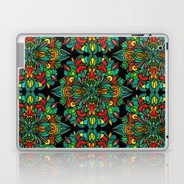 Green red orange pattern Laptop & iPad Skin