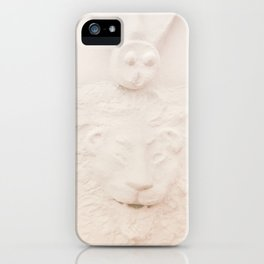 Lion Fountain - Architecture's Beauty iPhone Case
