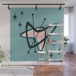 Atomic Boomerangs & Starbursts III Wall Mural