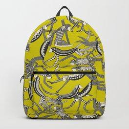 monkey chartreuse Backpack