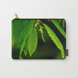 Glowing green Carry-All Pouch