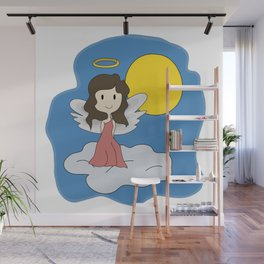 Guardian Angel - Mother figure - Heavenly Wall Mural