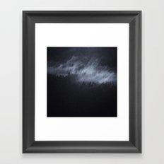 Light Shining Darkly Framed Art Print