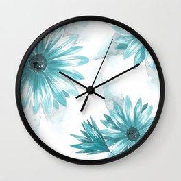 Watercolor Gerbera VI Wall Clock