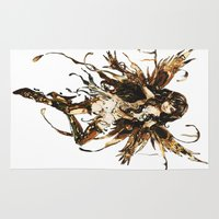 fairy Area & Throw Rugs featuring fairy by Vector Art