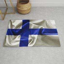 Finland Flag Rug