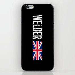 Welder: British Flag iPhone Skin