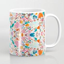 Colorful Crystal Terrazzo Tile Coffee Mug