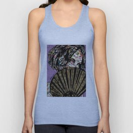 Playing Coy Unisex Tank Top