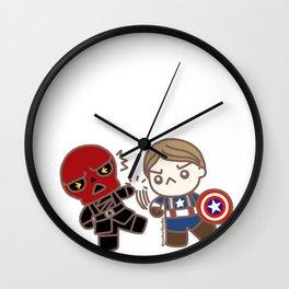 Steve Punch Wall Clock