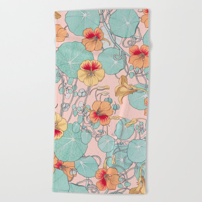 Lily Pond #society6 #decor #buyart Beach Towel