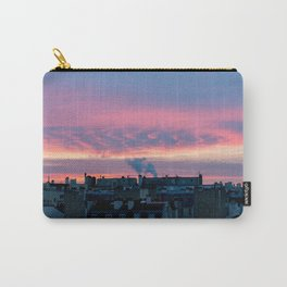 Sunrise over Paris roofs Carry-All Pouch