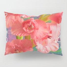 Gladiolus Flower Pillow Sham