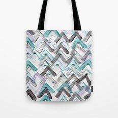 ZigZag Blue Tote Bag