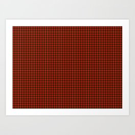 MacKintosh Tartan Art Print