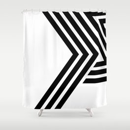 Hello IV Shower Curtain
