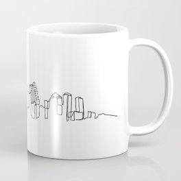 Austin Skyline Drawing Coffee Mug