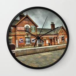 Bewdley Heritage Railway Station Wall Clock