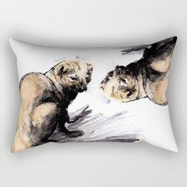 Totem Pekan (Martes pennanti) Rectangular Pillow