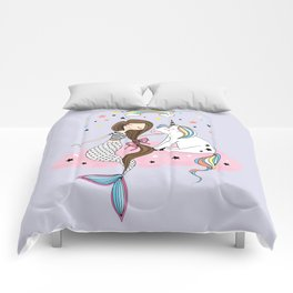 Mermaid & Unicorn Comforters