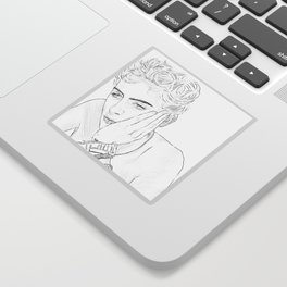 Timothee Chalamet - Elio from CMBYN Sticker