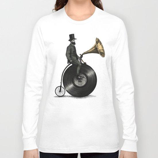 Music Man (Green Option) Long Sleeve T-shirt