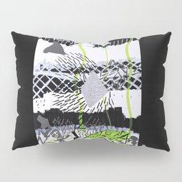 Série Gris 3 de 4 Paint Marker Acrylique/Acrylic Pillow Sham