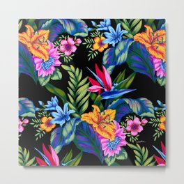 Jungle Vibe Metal Print