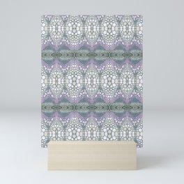 Arabidopsis flower stem microscopy cell pattern Mini Art Print