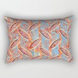 Rusty Diamonds Rectangular Pillow