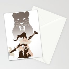 LoL - Nidalee,  The Bestial Huntress Stationery Cards