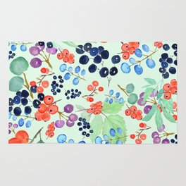joyful berries Rug