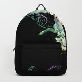 Wonderful unicorn with flowers Backpack