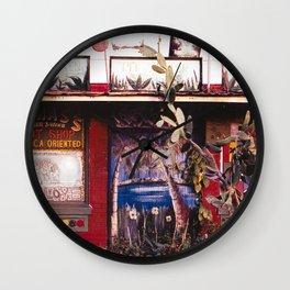 Hot Shop Wall Clock