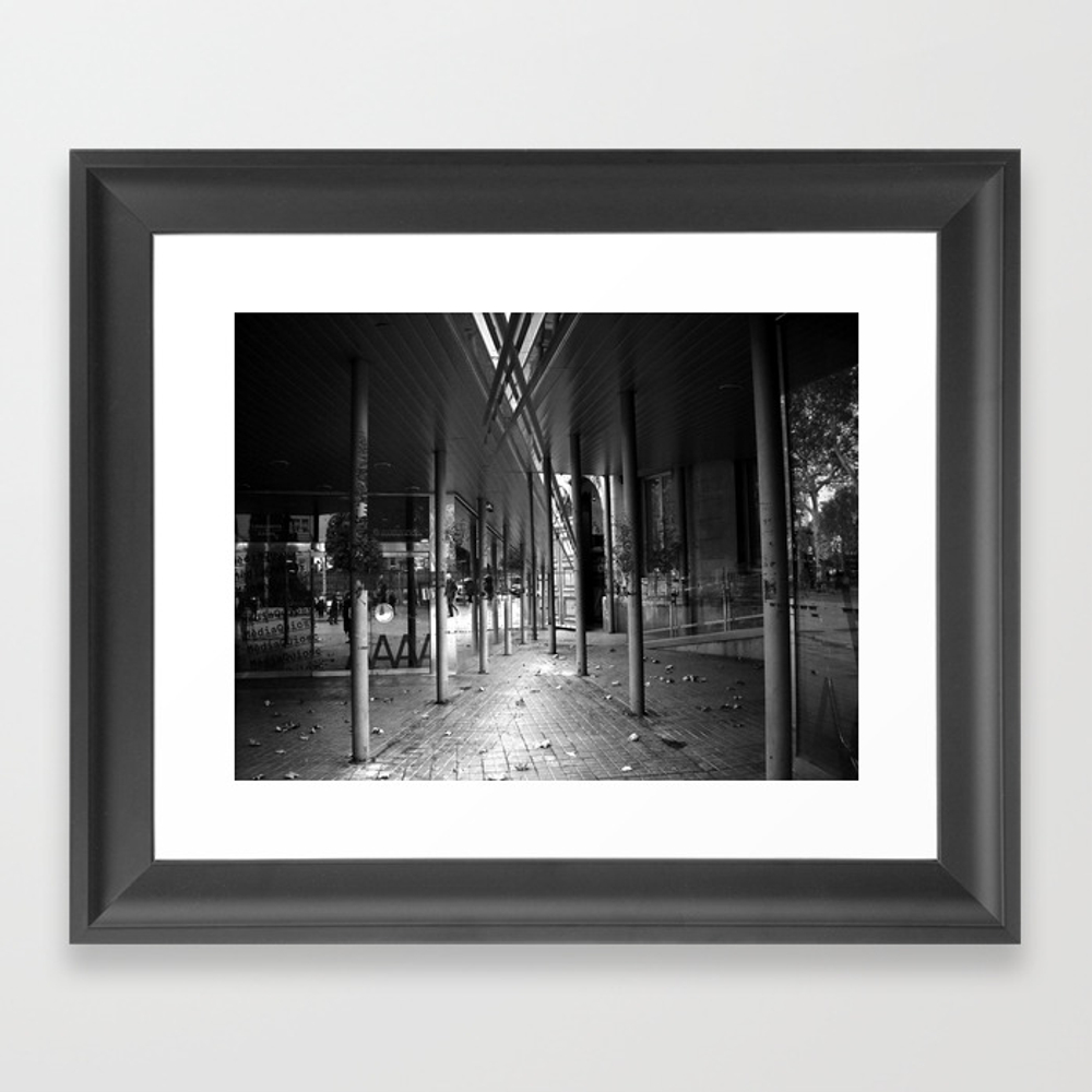Miscellaneous Subtleties Accumulated Caresslessly Framed Art Print by Dabnotu FRM825373