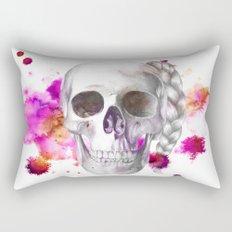 Braided Skull Rectangular Pillow