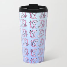 ribbon 17-ornamental,fabrics,fashion,decorative,girly,gentle Metal Travel Mug